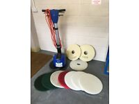 Nilfisk Alto Spintec Floor polisher 443H- Used only twice !