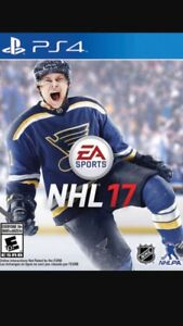NHL 17,  Call Of Duty Black Ops 3, NBA 2K16, MLB 16 for PS4