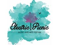 X4 Electric Picnic Tickets for sale!!