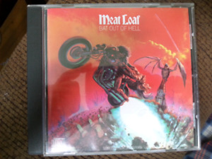 Meatloaf bat out  of hell CD