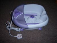 SUPERDRUG FOOT SPA MASSAGER PSA-3650T - MINT CONDITION!