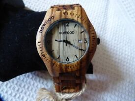 NEW Dowood watch in original box - unwanted gift