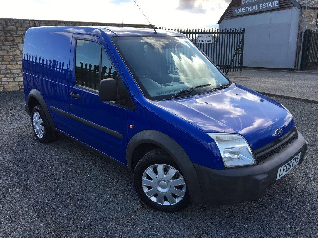 2006 06 ford transit connect 1 7 td l220 swb diesel panel van low mileage only 2 keepers