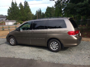 2008 Honda Odyssey EX L Minivan, Van