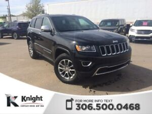 2016 Jeep Grand Cherokee Limited 90 day/ 3000 km Warranty