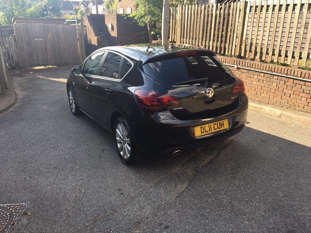 Vauxhall Astra 2011