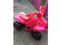 Kids quad 2-5 years battery powered