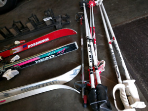 $30 for 3 (shoes, ski, and poles) need gone!