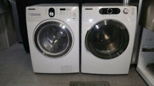 DUO LAVEUSE SECHEUSE FRONTALE SUPERPOSABLE SAMSUNG/ WASHER DRYER