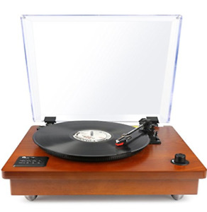 Classic Wooden Turn Table / Record / Vinyl Player