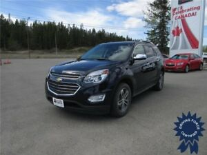 2016 Chevrolet Equinox LTZ All Wheel Drive - 33,546 KMs, Seats 5