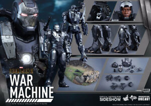 War Machine - Iron Man 2 - Diecast - 1/6th Hot Toys Figure