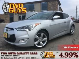 2013 Hyundai Veloster HTD SEATS ALLOYS 4 PASS