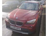 BMW X1 2010, 2.0L, 18d sDrive, 106000 mls
