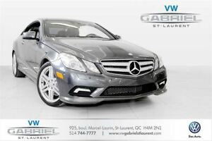 2011 Mercedes-Benz E-Class E550 Coupe V8! FINANCEMENT DISPONIBLE