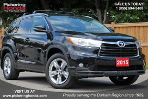 2015 Toyota Highlander Limited LEATHER SUNROOF REAR CAMERA