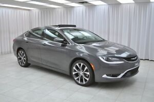 2016 Chrysler 200 200C V6 SEDAN w/ HEATED LEATHER, NAV SYSTEM, P