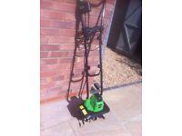 Charles Bentley 750W Electric Lawn Cultivator Garden Tiller Soil Rotavator