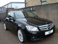 "10 60 MERCEDES C200 2.2 CDI EXECUTIVE DIESEL 4DR18"" AMG ALLOYS SATNAV BLUETOOTH"
