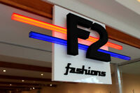 Part Time Sales at F2 Fashions