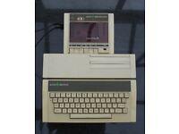 Acorn Electron Computer, Acorn Plus 1 unit & Acorn Data Recorder.