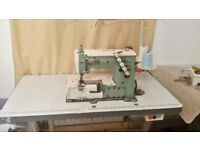 KANSAI SPECIAL W-8103 COVERSTITCH INDUSTRIAL SEWING MACHINE- 3 needle, 4 thread