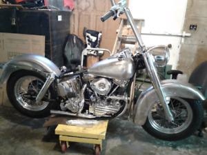True  title 1960 Harley Davidson Panhead
