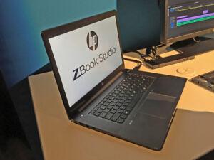 high-end HP Zbook /i7-6700HQ/16GB DDR4/4GB Quadro video