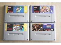 Super Nintendo Game Bundle