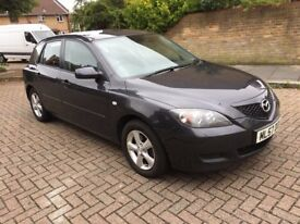 2007 MAZDA3 1.6 TS MANUAL 5 DOOR HATCHBACK PETROL, 80K