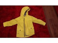 Boys Jasper Conran Yellow Coat.