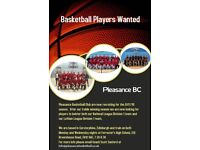 Basketball players wanted for SBC Division 1
