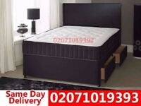 Brand New Double Divan Bed Available with Mattress Shandon