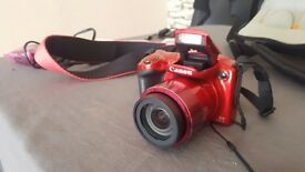 canon sx410 is red same is new