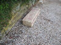 old granite step