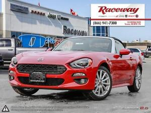 2017 FIAT 124 Spider LUSSO | LEATHER | NAVIGATION | HEATED SEATS