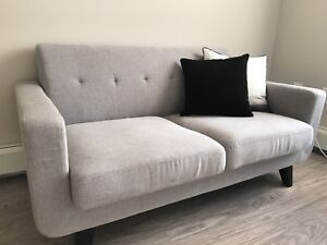 Love seat less than one month old