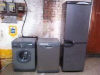 washer dryer dish washer fridge freezer