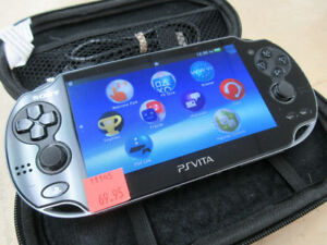 **WITH WIFI** Sony PCH-1001 PSVita Handheld Game System