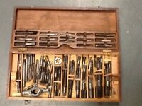 Large Box of Taps & Reamers