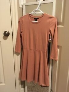 forever21 rosepink dress size s