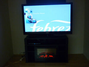samsung tv with stand .dimplex fireplace
