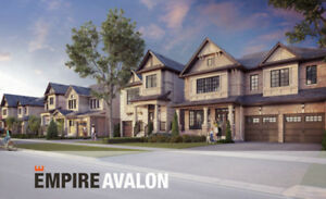 New Detached Homes– Avalon in Caledonia