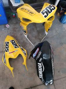 Yamaha R1 2007/2008 race body fairings