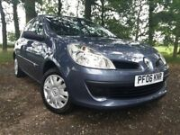 2006 Renault Clio 1.2 16v Expression 5dr immaculate condition. Just 11'000 miles. 12 months Warranty