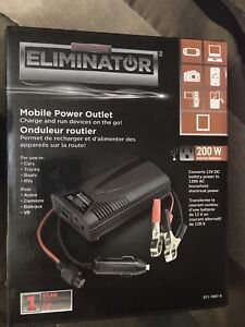 Brand New Motor master power outlet 200w