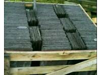 ( BUSHMILLS )1000 no 22x12 Reclaimed Bangor Blue Slates