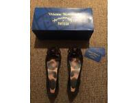 Genuine Vivienne Westwood Melissa shoes. Size 6 in Box