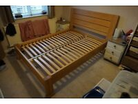 Reduced Immaculate Sonoma Light Bed Frame (RRP £519.00)