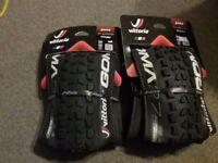 Pair of Vittoria Goma All Mountain Tyres 27.5x2.4 RRP £74.00